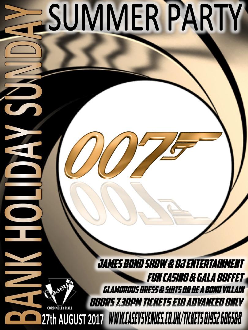 James Bond Night