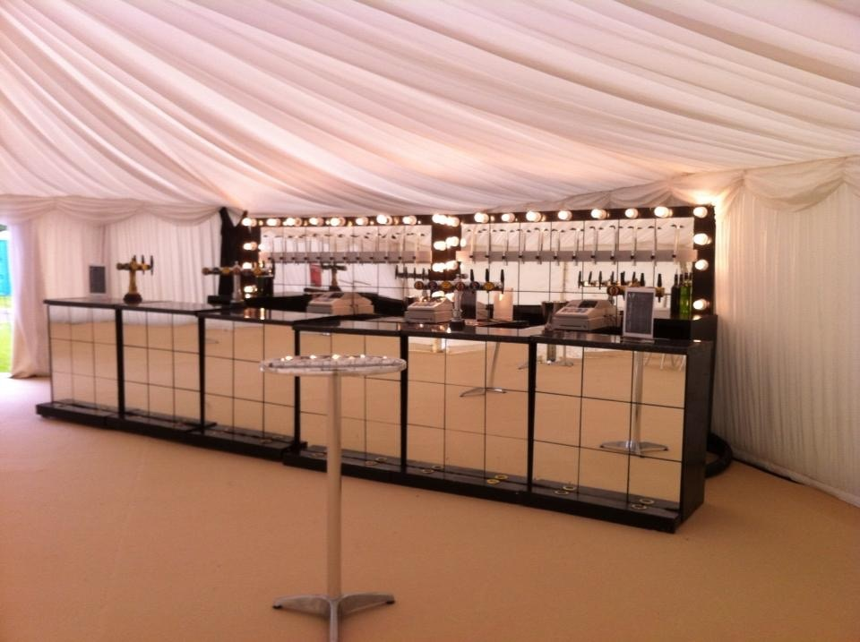 large inside marquee for 400+