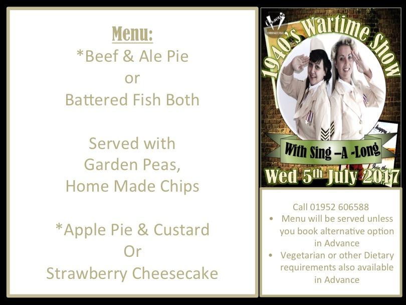 oap july menu