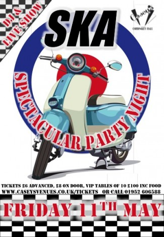ska night may poster