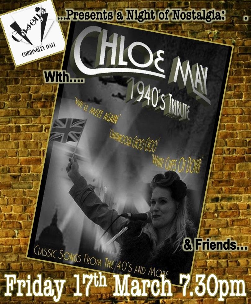 1940s Nostalgia Chloe