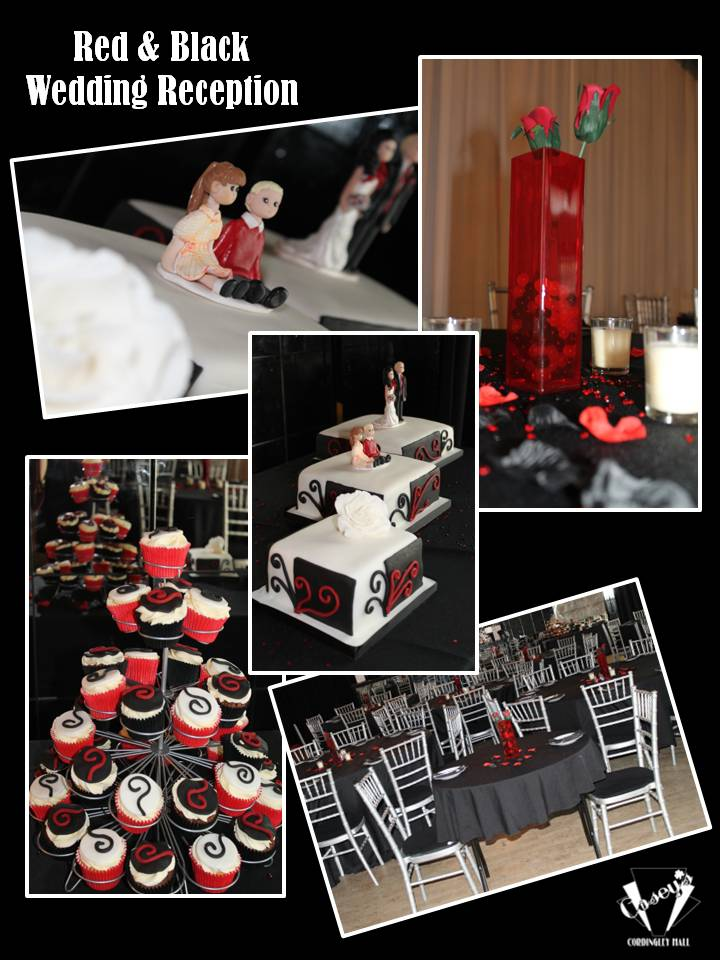 Red & Black Wedding 2