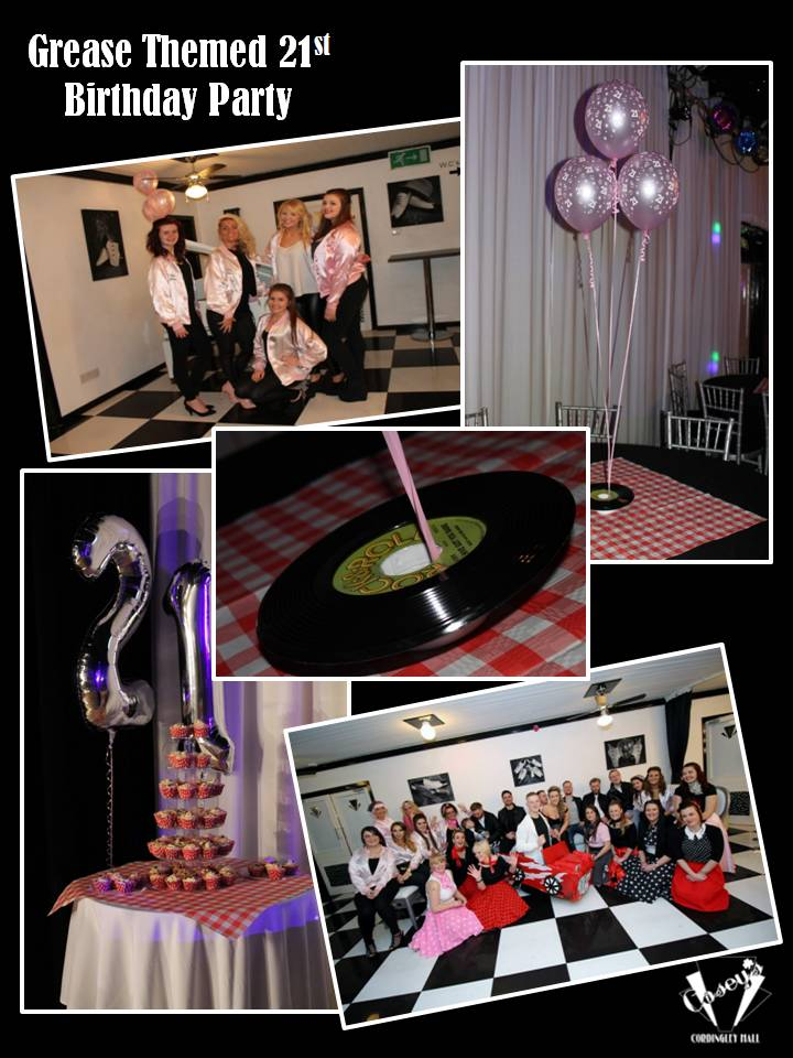 Grease Themed 21st Birthday Party