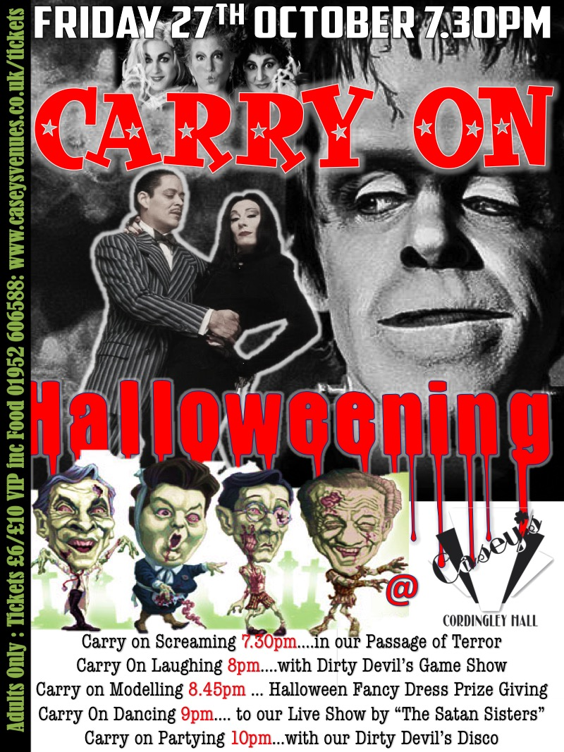 carry on halloween poster