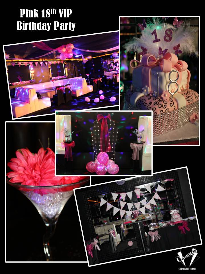 Pink 18th VIP Birthday Party