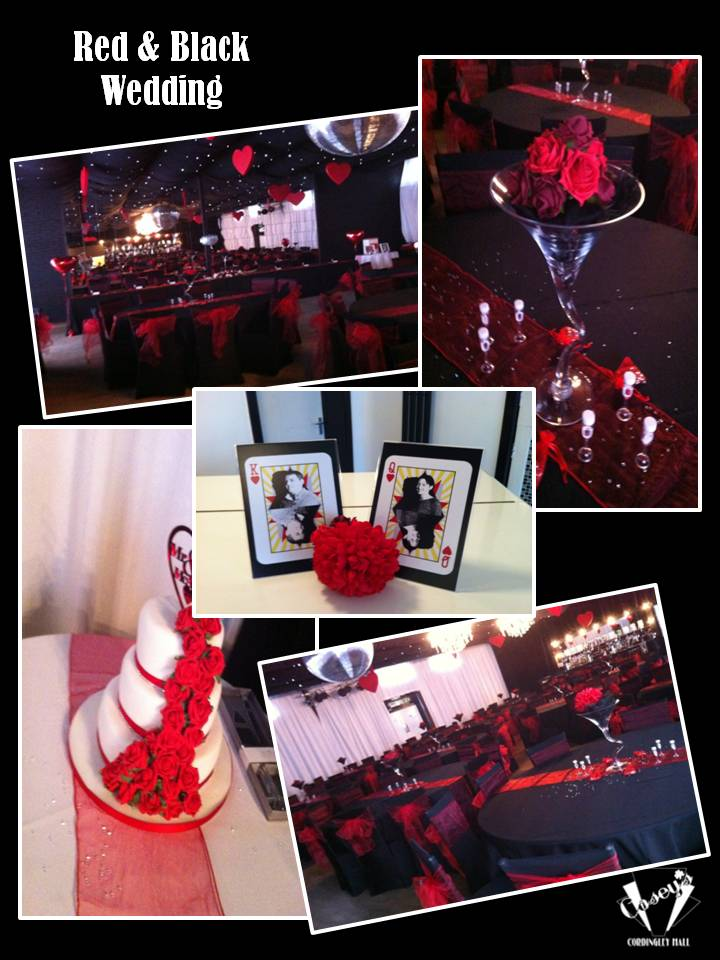 Red & Black Wedding
