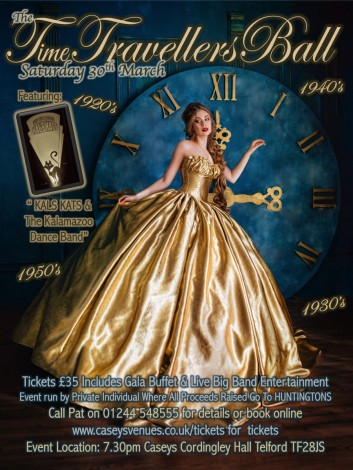 Time Travellers Ball Vintage Event 2019
