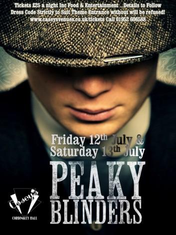peaky blinders july weekend