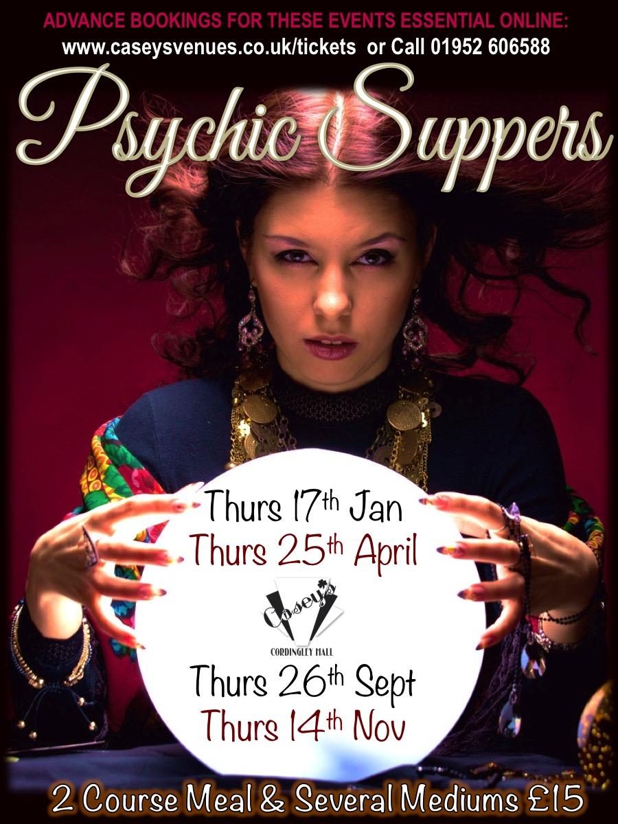 Psychic Supper - 26/09/19