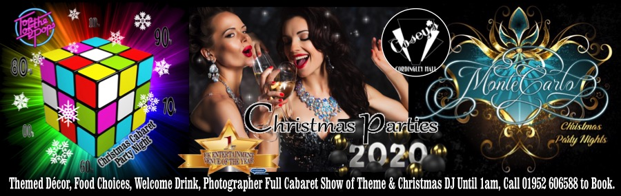 Christmas 2020 | Casey's Cordingley Hall, Telford. Event ...